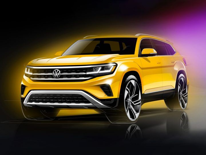 2021 Volkswagen Atlas Design Preview Car Body Design In 2020 Volkswagen New Upcoming Cars Latest Cars