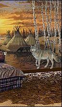 Southwest Style Decorating Ideas   Southwestern Theme Bedroom Decorations    Southwest Native American Bedroom Decorating Ideas   Wolf Bedroom Ideas    Wolf ... Part 22