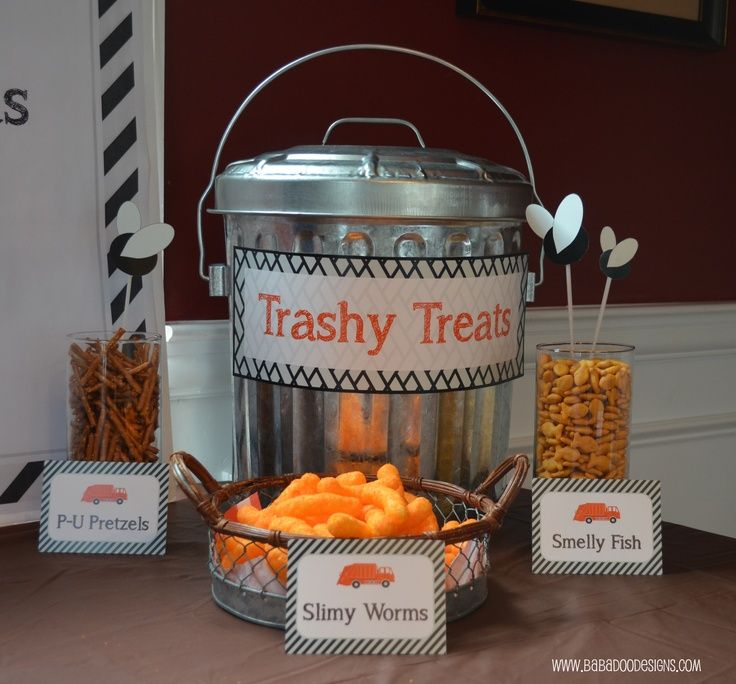 trash truck birthday party | Garbage Truck Party Ideas: ... | Kids: Birthday Ideas