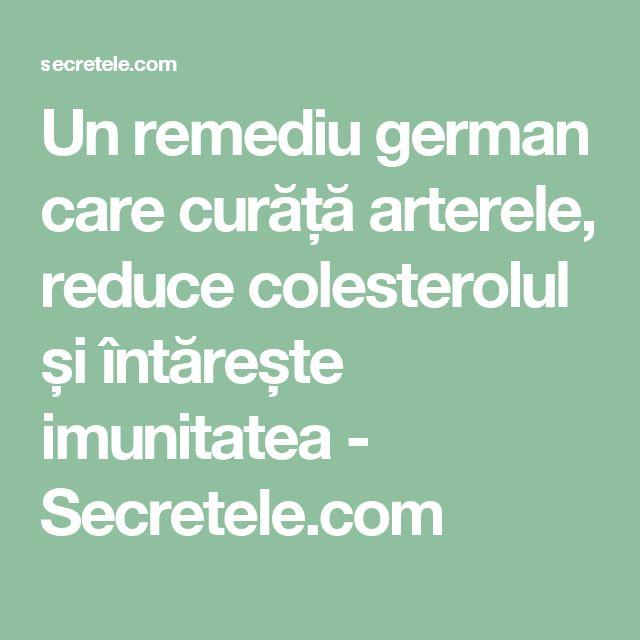 Un remediu german care curăță arterele, reduce colesterolul și întărește imunitatea - Secretele.com