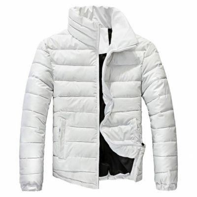 Fashion New Winter Warm Wear Stand Collar Men's Down Slim Parka Jacket Coats Outwear