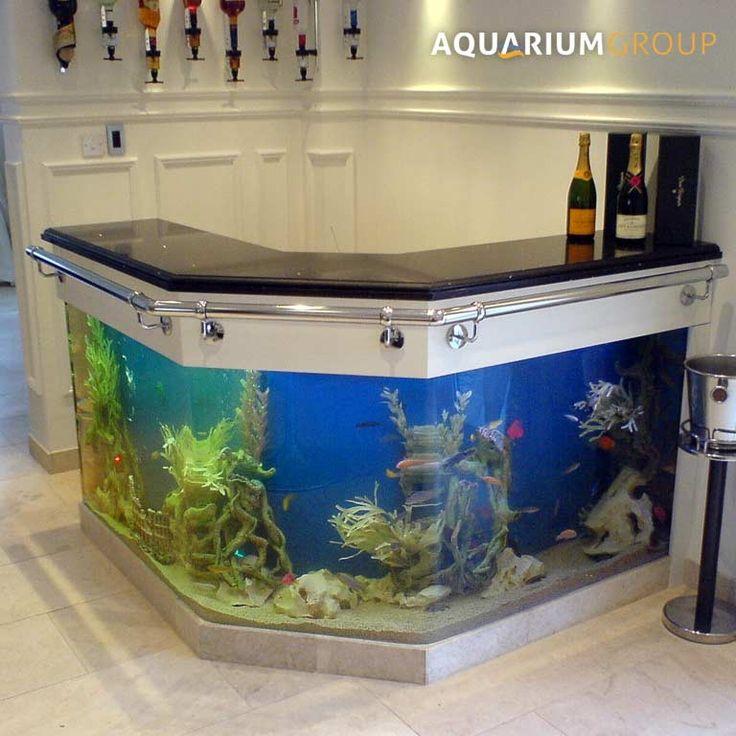 Angled Bar Aquarium Peceras In 2019 Aquarium Bar