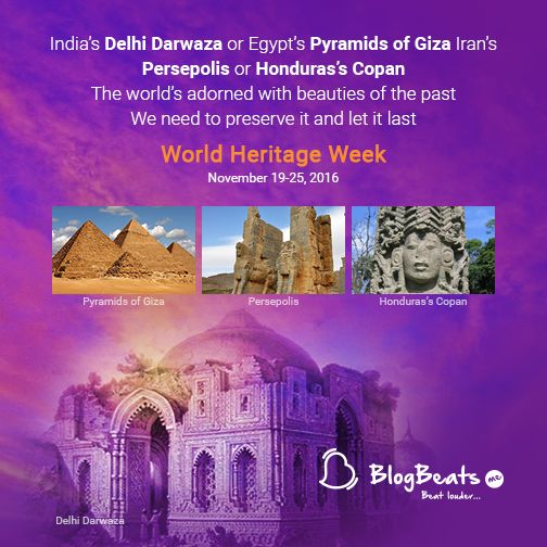 Every bygone era makes up for our #rich #cultural #heritage. Let us preserve them for the coming generations. #WorldHeritageWeek