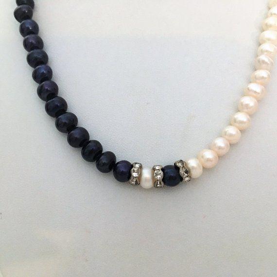 """Boucles d/'oreilles Set AAA 7-8 mm blanc d/'eau douce collier de perles 18/"""""""