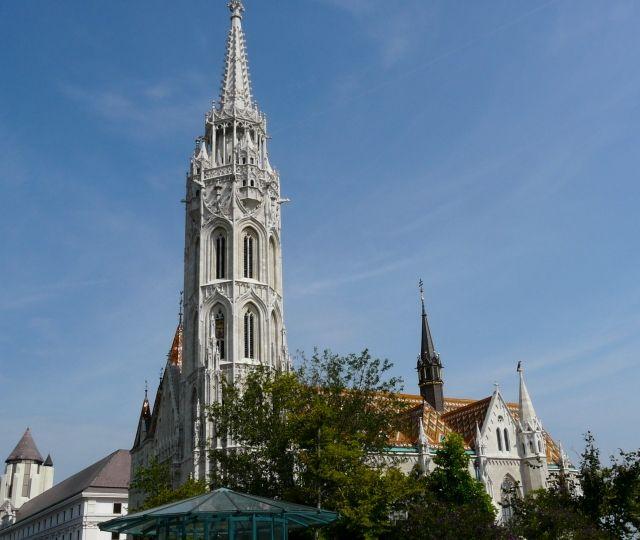 Matthias Church in Budapest  Kościół Macieja w Budapeszcie
