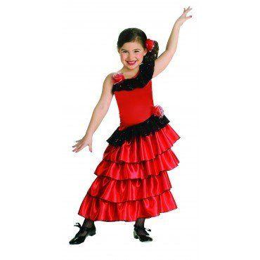 Girls Spanish Princess Costume