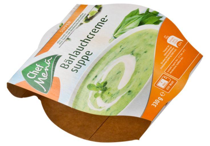 Sleeve für Fertiggerichte • Hochwertig bedruckter Sleeve, der das Produkt umhüllt. • #Dinkhauser Kartonagen, #Lebensmittelverpackungen, #Offsetdruck