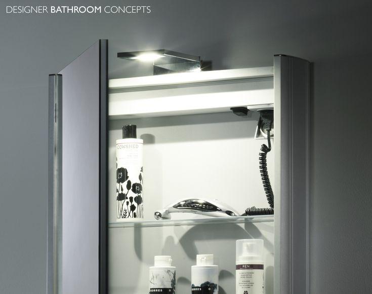 Unique Heated Bathroom Mirror Cabinet