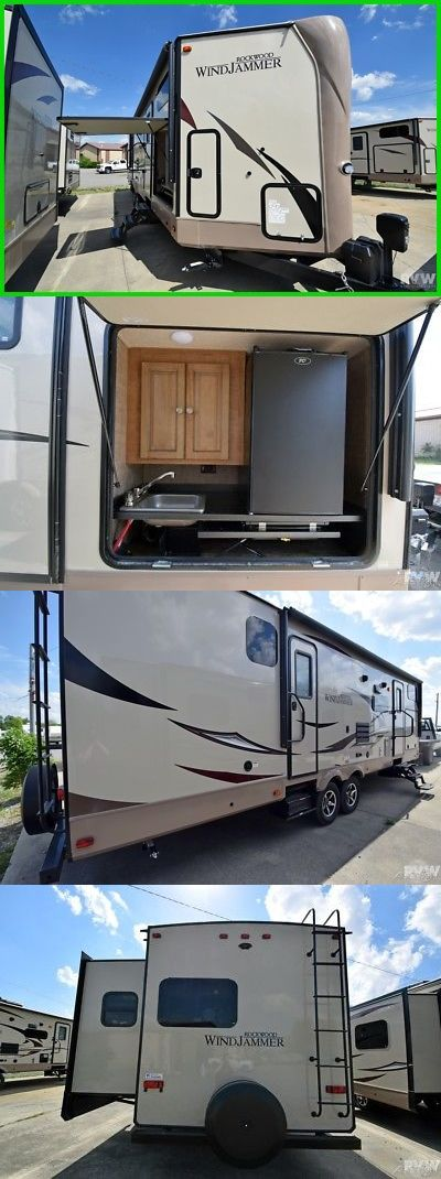 rvs: New 2018 Rockwood Windjammer 3006Wk Towable Travel Trailer Outside Kitchen Rv -> BUY IT NOW ONLY: $28910 on eBay!