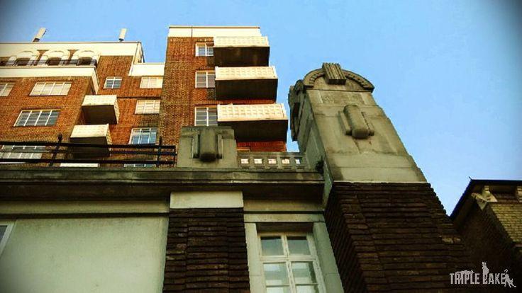 Art Deco Architecture London  The Grampians Shepherds Bush Road London W6 7LN