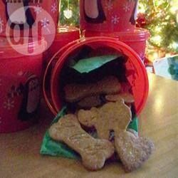 Petits biscuits pour chiens