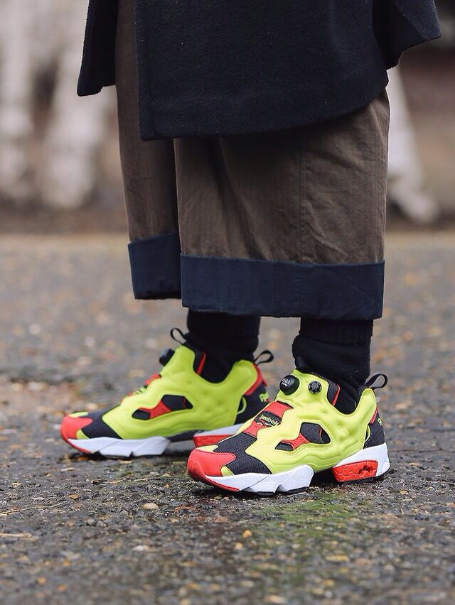... White AR0625 Find this Pin and more on Shoes footwear. Celebrity Kicks  Sightings  YoungJun Koo Reebok - InstaPump Fury ... 54e04f8be