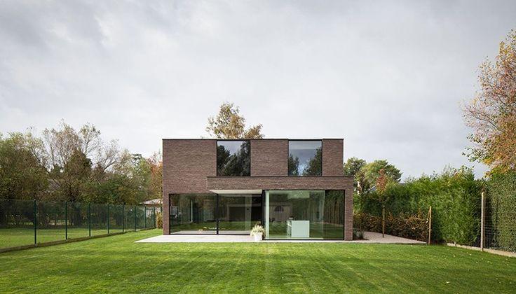 alt door ABSBouwteam   http://www.absbouwteam.be/een-selectie-realisaties/Moderne-gezinswoning-in-De-Pinte   Beeld 2