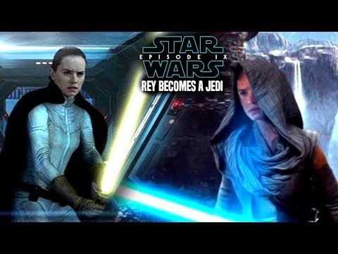 Star Wars! How Rey Becomes A Jedi In Episode 9! Leaked