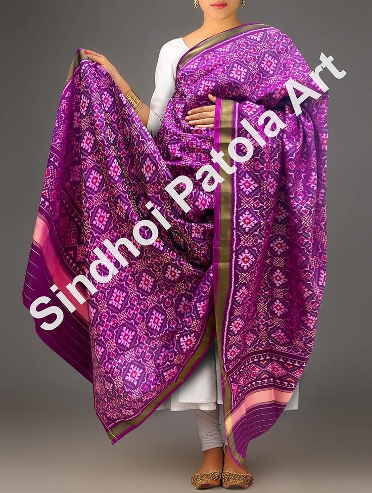 Patola silk dupattas from sindhoi patola art