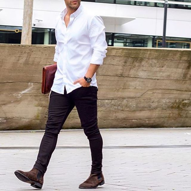 Find the outfit at styleiswhat.com #styleiswhat @kosta_williams