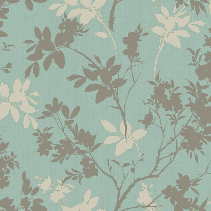 Arthouse Eco Divine Motif Blue Floral Wallpaper