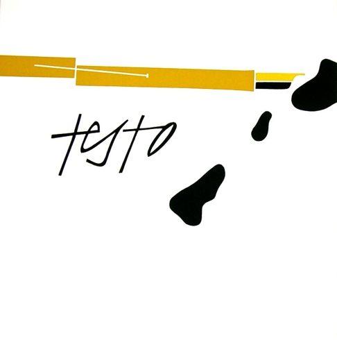 TADINI Emilio, Intransitivo. Milano,  Motta. Prima edizione di 125 + XX esemplari numerati. Tre serigrafie originali a colori a piena pagina (cm 66x43,5) di Emilio Tadini, numerate e firmate dall'Artista. Con tre poesie inedite di Roberto Sanesi