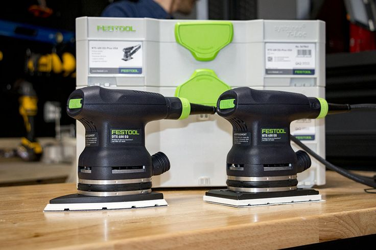 Festool DTS 400 EQ Orbital Finish Sander  We can always ask for more – faster sanding, less vibration, better dust extraction (well, I don't know that we can ask for better dust extraction this time) - but Festool has these two sanders dialed in as tools that are comfortable and enjoyable to use.  #Festool #sanders #randomorbitsander #carpentry #woodworking #remodeling #construction #renovation #tools #powertools  https://www.protoolreviews.com/tools/power/corded/grin