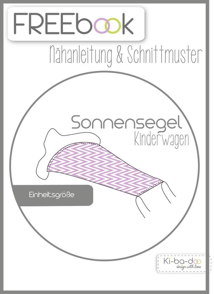 Freebook Sonnensegel - Schnittmuster und Anleitung als PDF, versandkostenfrei