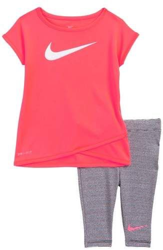 72f13d8040db Nike Sport Essentials Dry Tee   Leggings Set. Nike clothes set for baby and  toddler