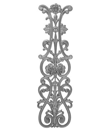 Best Cast Iron Railing Parts For Cast And Forged Ornamental 400 x 300