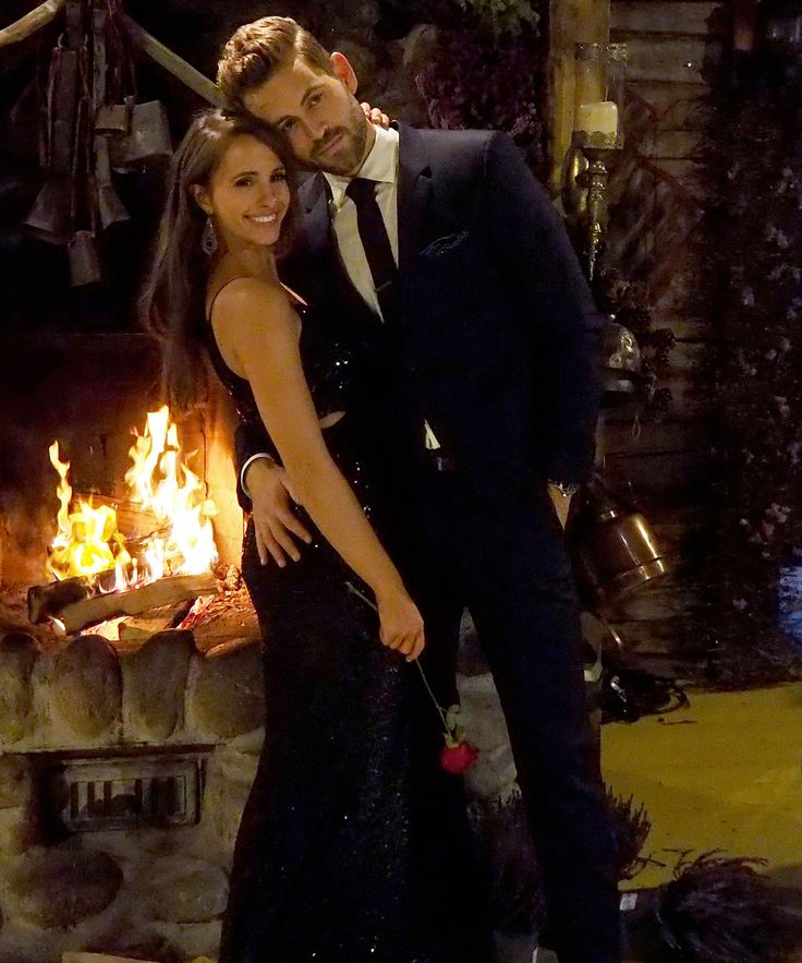 Here's The Moment Nick Viall Fell In Love With Vanessa Grimaldi On The Bachelor #refinery29 http://www.refinery29.com/2017/03/145277/nick-viall-vanessa-grimaldi-bachelor-fell-in-love