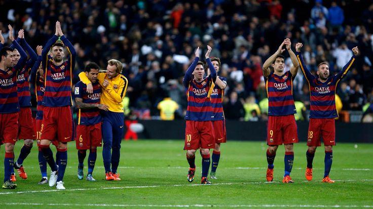 El Clasico 2015 Barcelona y Real Madrid (4-0)