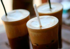 Кофе со льдом «Frappe по-гречески»