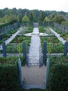 178 Best Vegetable Gardens French Potager Images On Pinterest - french potager garden design
