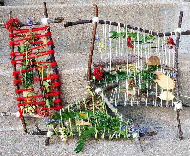 Go on a nature adventure, collect found items, then make one (or more) of these fabulous nature crafts!