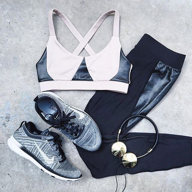 Chic workout gear. // Follow @ShopStyle on Instagram to shop this look