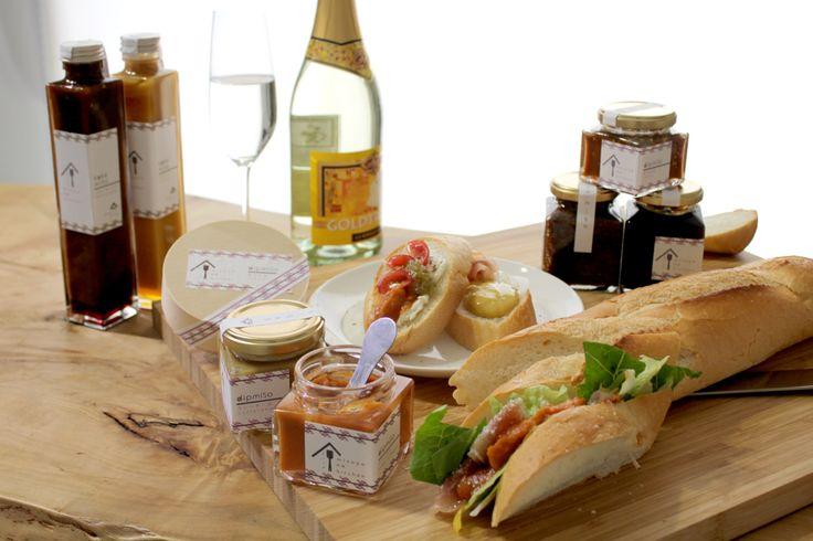 misoya no kitchenシリーズ 瓶の中にあるのはこう見えてお味噌。パンやクラッカーに付けてお酒のおつまみにも…