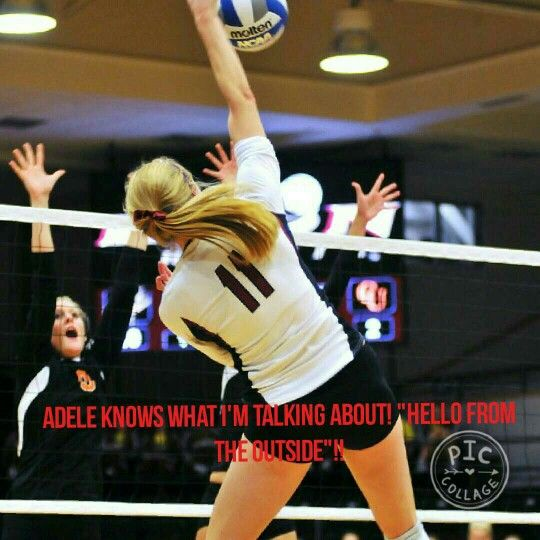 Repin. Funny but I Dont know if I'm going to be a setter middle Lebro blocker or anything else but funny