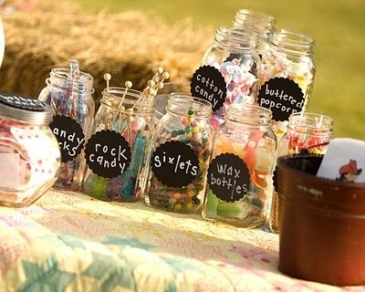 Old fashioned party favors 12