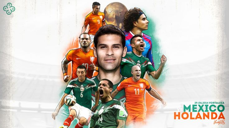México vs Holanda wall paper
