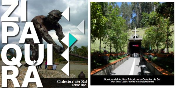 Exposición Fotográfica - Catedral de Sal / Zipaquirá by Edison Ripe, via Behance