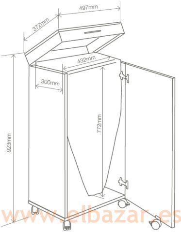 Tabla - armario para plancha de ropa, plegable | Comprar Ahora | El Bazar