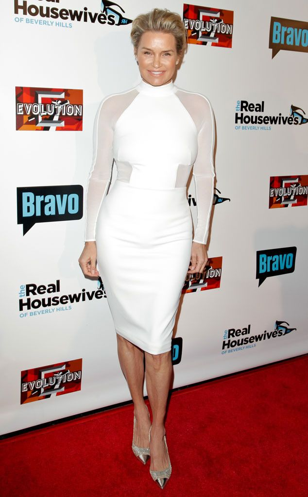 Yolanda Foster Steps Out After Surprise Divorce News as Real Housewives of Beverly Hills Stars Discuss Her Breakup   E! Online Mobile