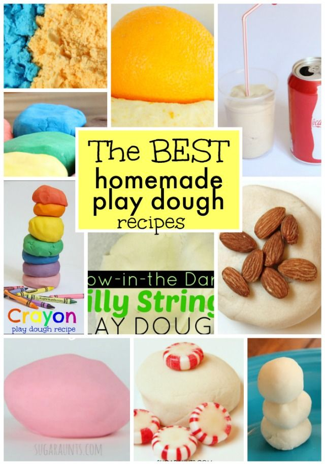 The best homemade play dough recipes for kids