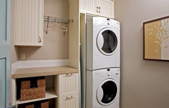 cozy small laundry room ideas