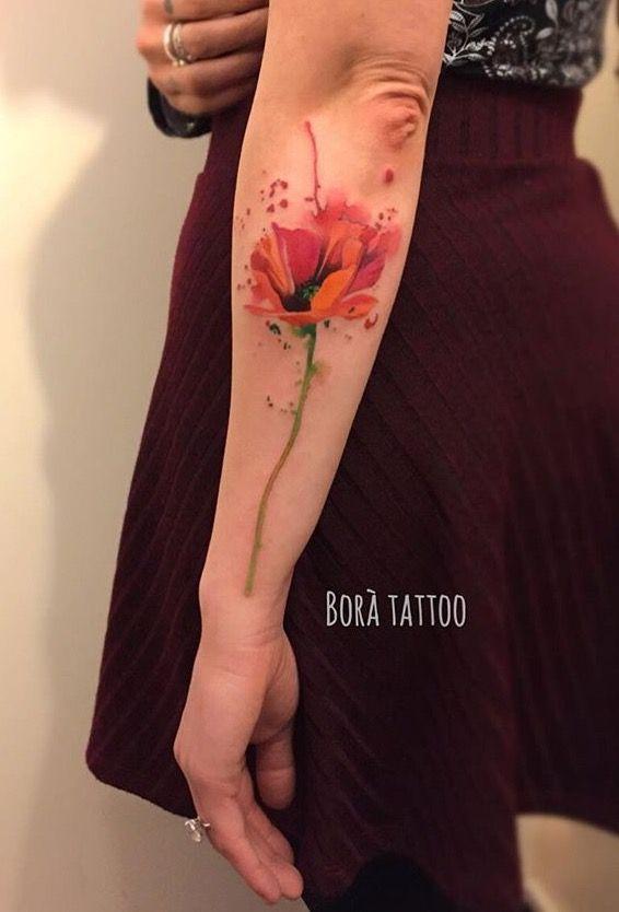 Best 25 watercolor poppy tattoo ideas on pinterest for Watercolor poppy tattoo