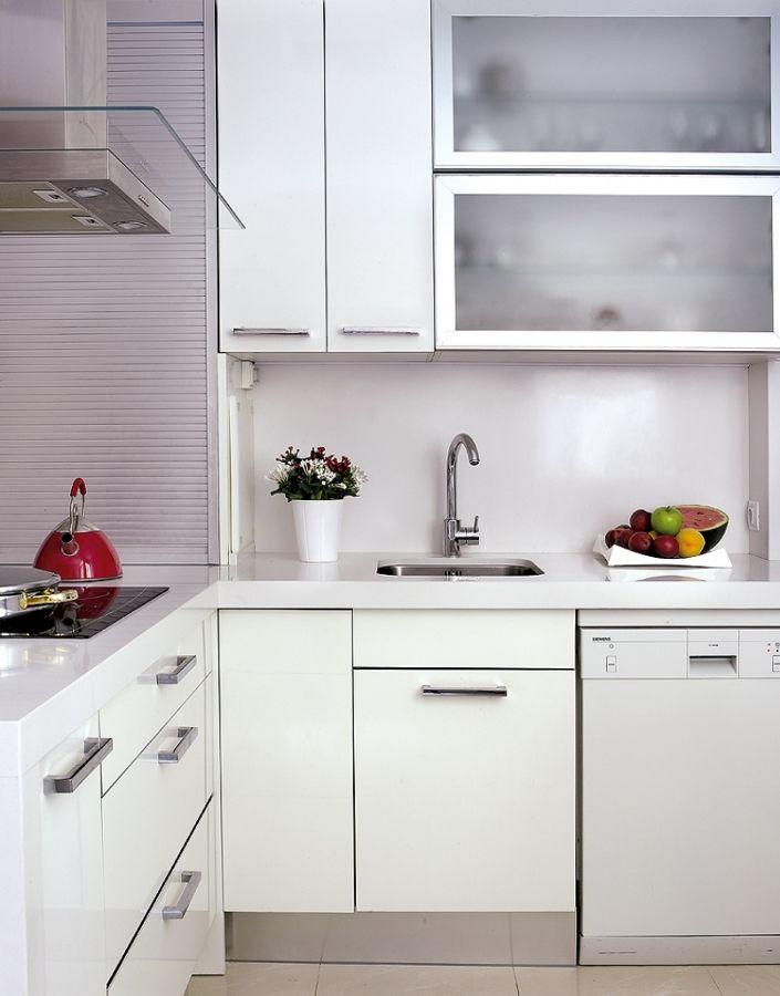 M s de 1000 ideas sobre cocinas peque as en pinterest - Fotos cocinas pequenas ...