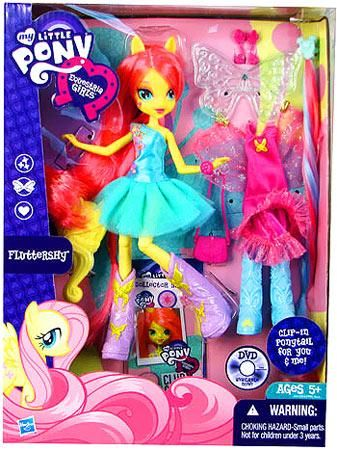My Little Pony Equestria Girls 9 Inch Doll Fluttershy