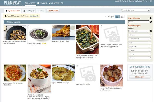 What's the Best Meal Planning App? PlantoEat HANDS-DOWN! Go vote for them on Lifehacker.com