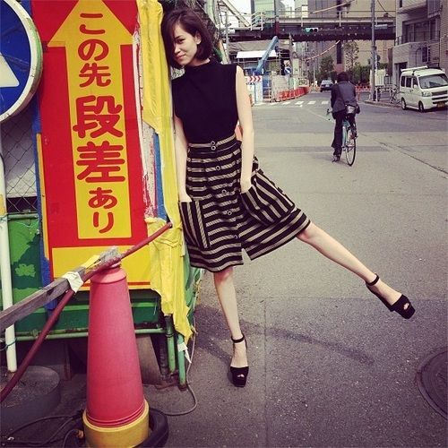 those shoes!, by Kiko Mizuhara