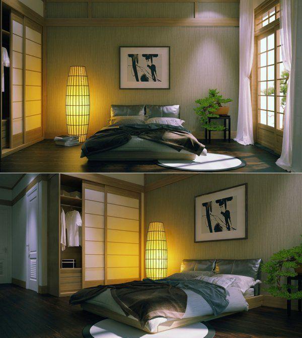 chambre zen dcoration zen pour la chambre