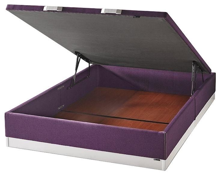 #Canapé de gran capacidad, con 31 cm de altura, para guardar todo lo que puedas imaginar #almacenaje #dormitorio #hogar  http://www.oksofas.es/productos/descanso/eurosuelo-115