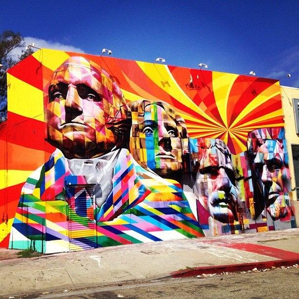 By Eduardo Kobra http://www.widewalls.ch/artist/eduardo-kobra/