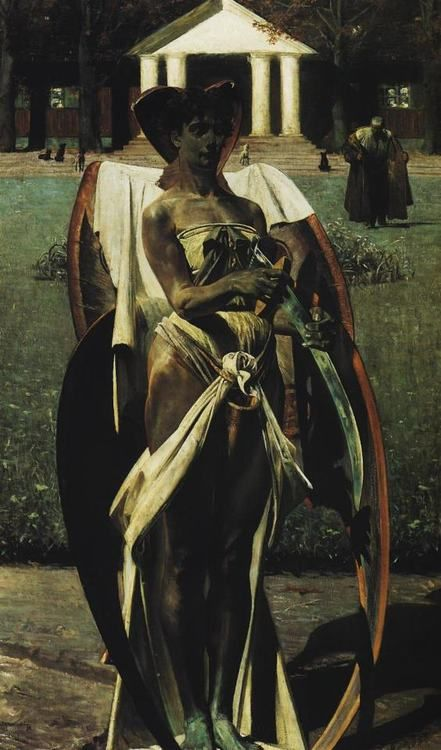 Jacek Malczewski - Thanatos I 1898